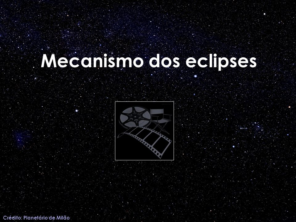 Mecanismo dos eclipses
