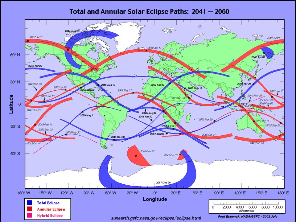 Crédito da imagem, NASA, disponível em http://eclipse.gsfc.nasa.gov