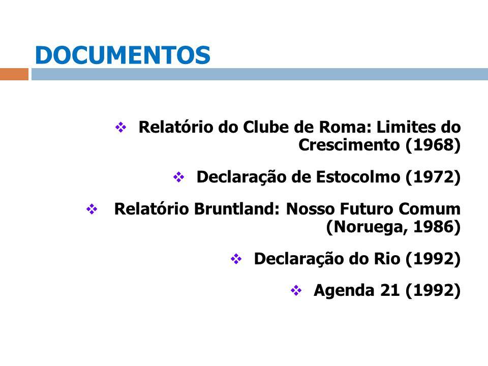 DOCUMENTOS Relatório do Clube de Roma: Limites do Crescimento (1968)