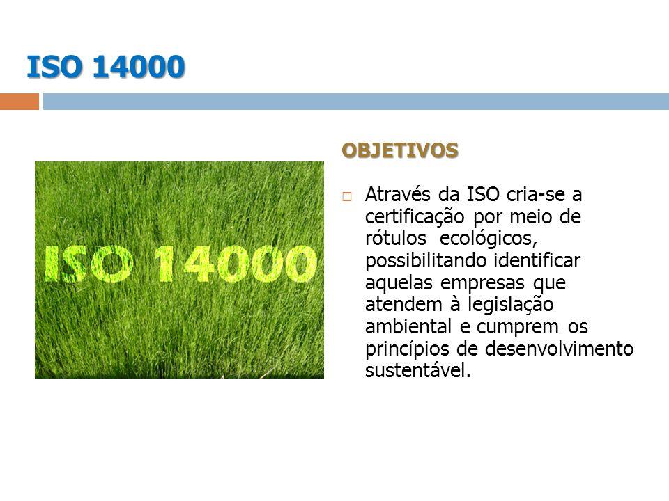 ISO 14000 OBJETIVOS.