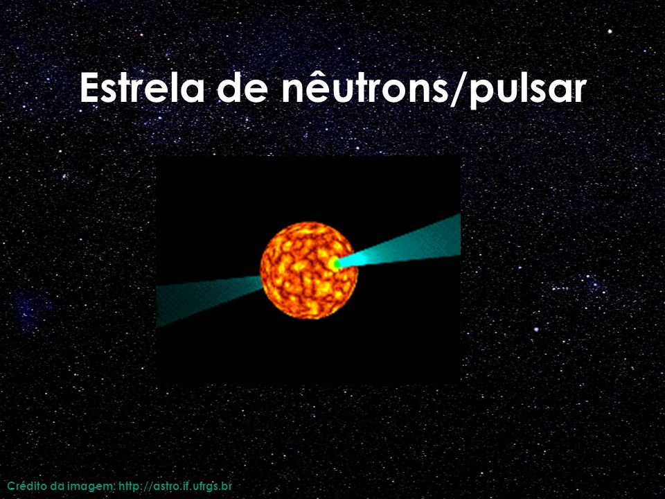 Estrela de nêutrons/pulsar
