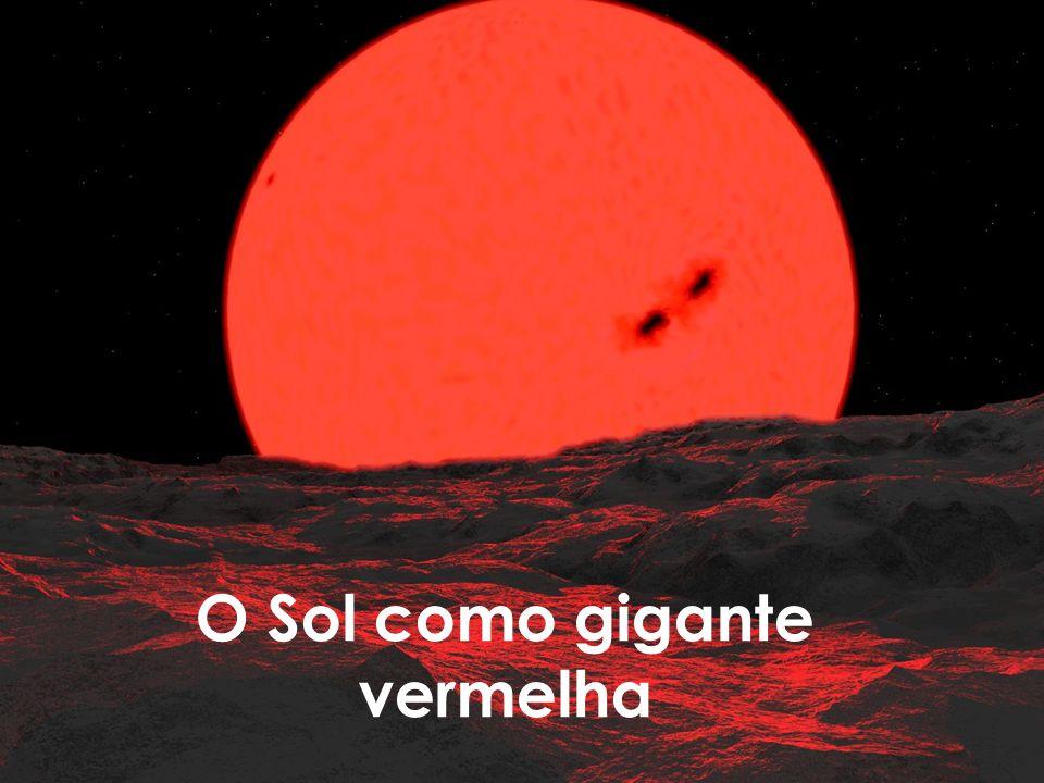 O Sol como gigante vermelha