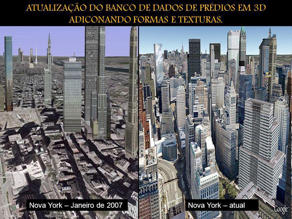 ATUALIZAÇÃO DO BANCO DE DADOS DE PRÉDIOS EM 3D ADICONANDO FORMAS E TEXTURAS.