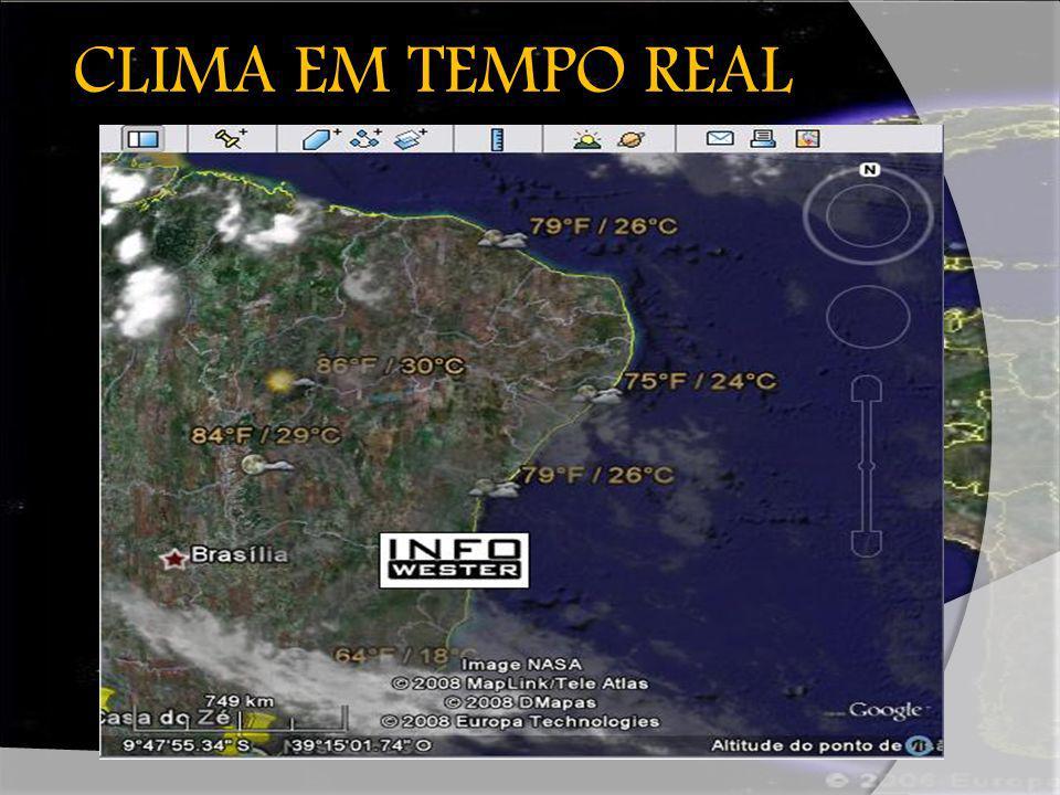 CLIMA EM TEMPO REAL