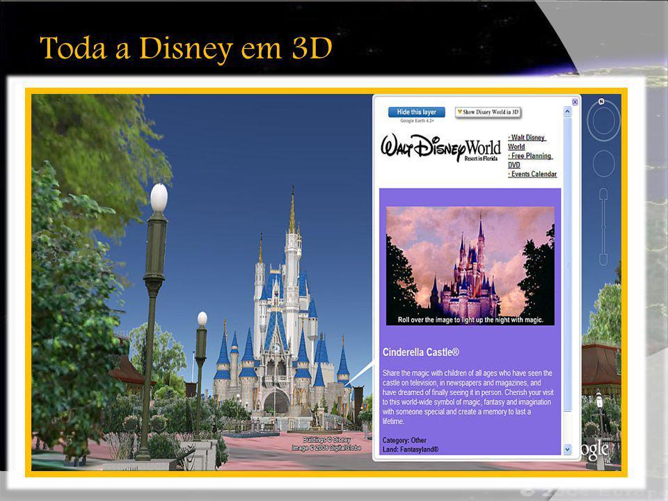 Toda a Disney em 3D