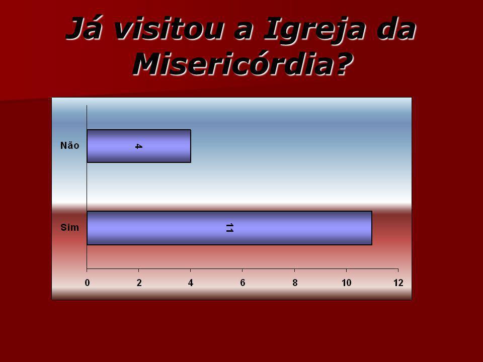 Já visitou a Igreja da Misericórdia