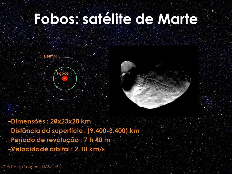 Fobos: satélite de Marte