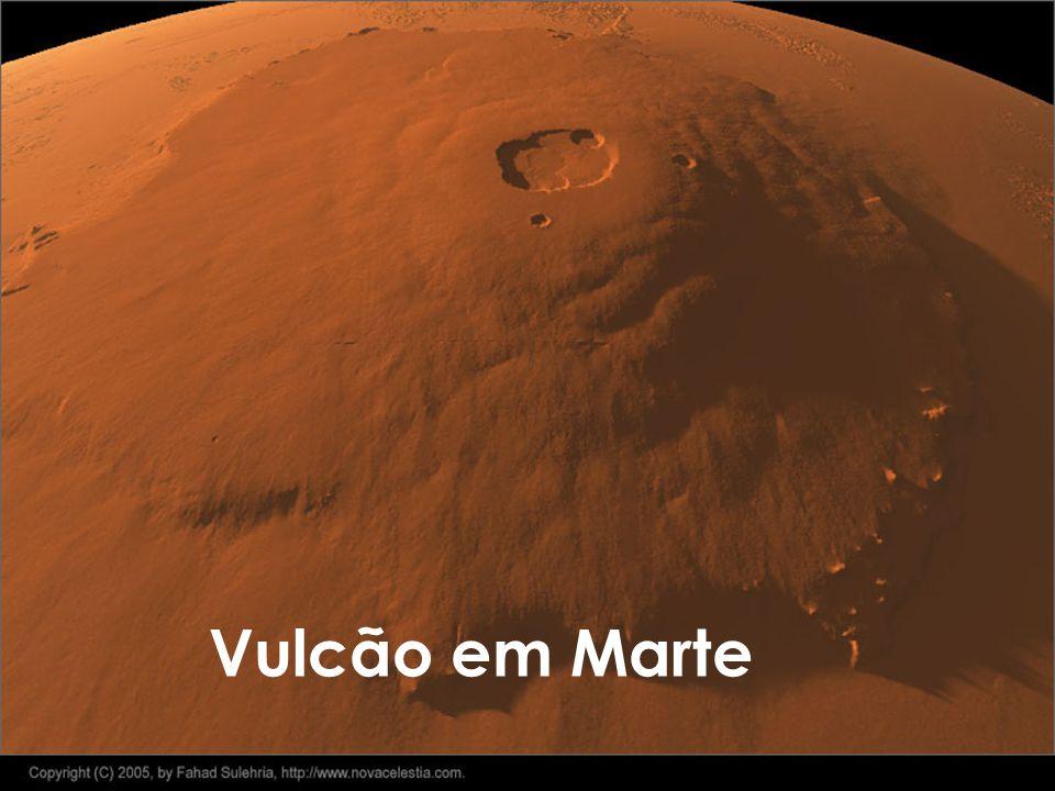 Vulcão em Marte
