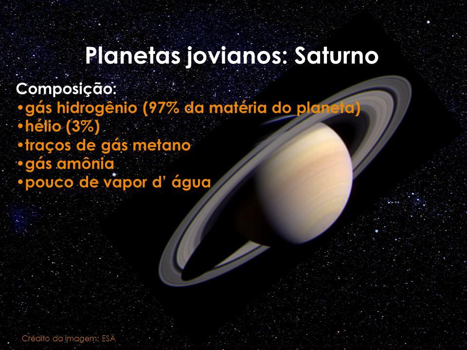 Planetas jovianos: Saturno