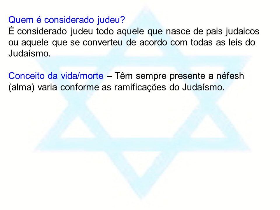 Quem é considerado judeu