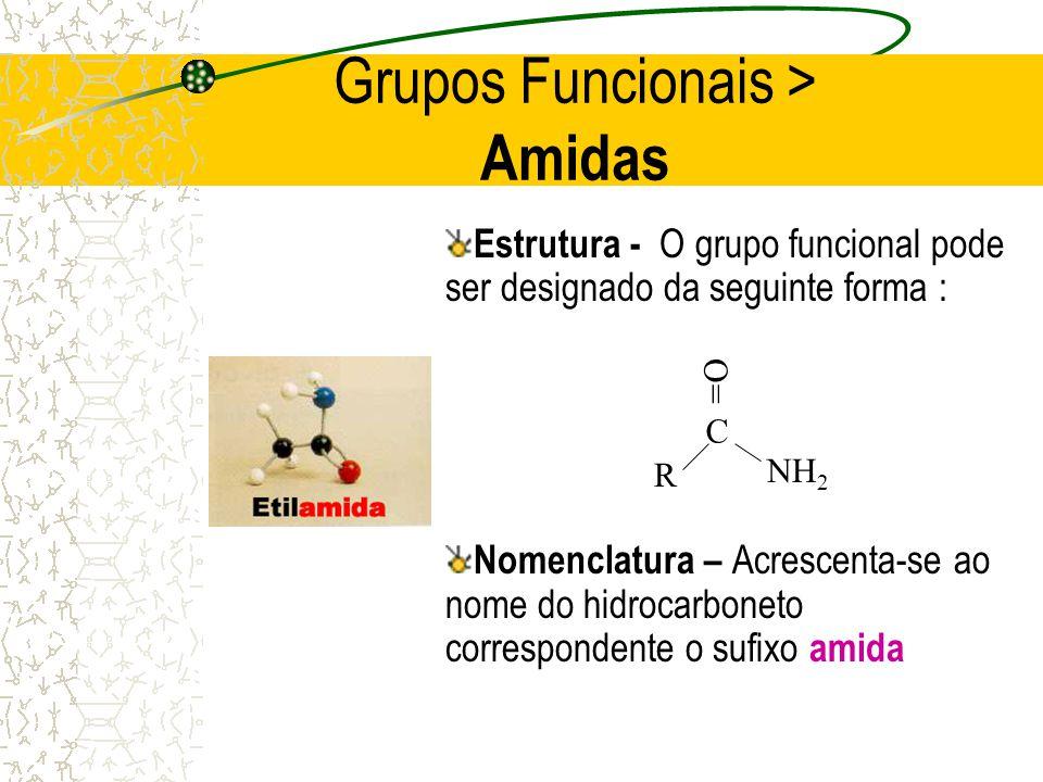 Grupos Funcionais > Amidas
