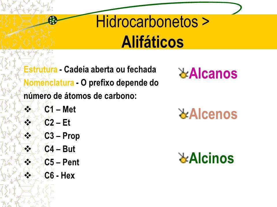 Hidrocarbonetos > Alifáticos