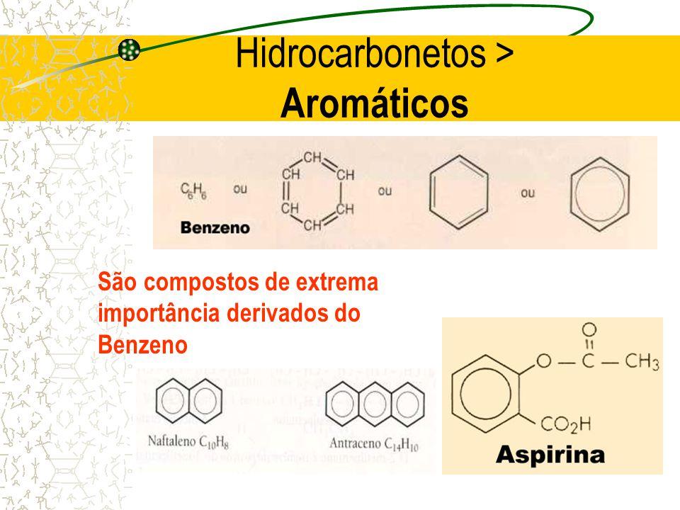 Hidrocarbonetos > Aromáticos