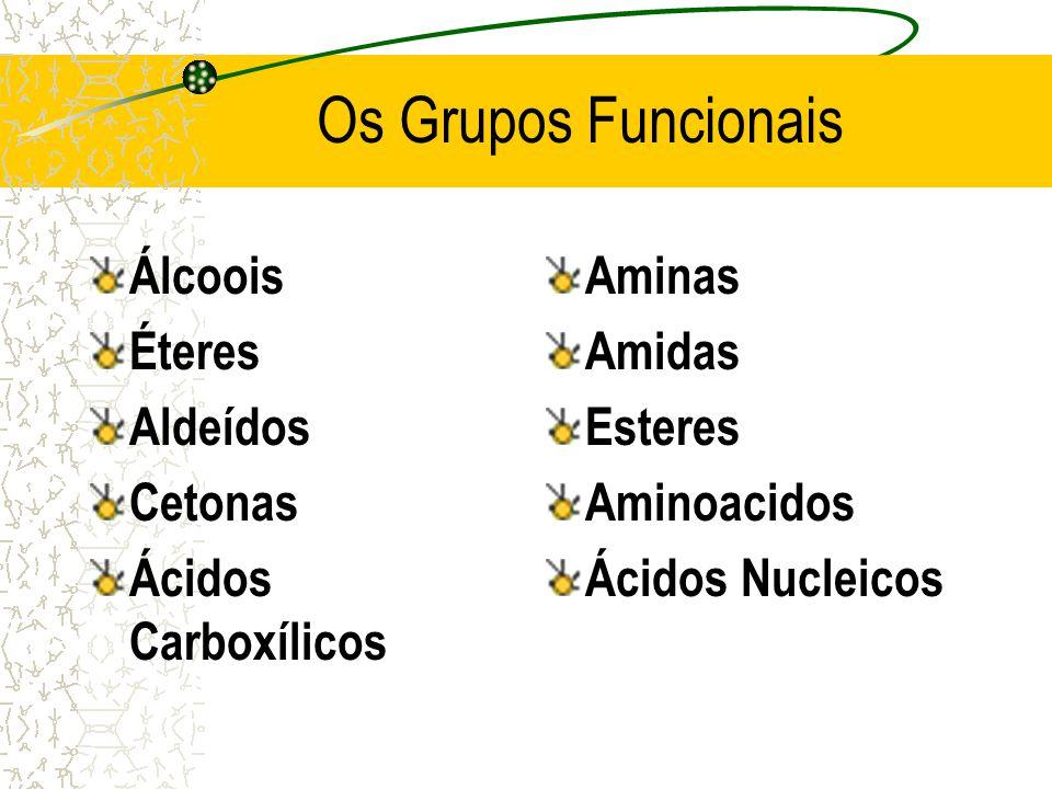Os Grupos Funcionais Álcoois Éteres Aldeídos Cetonas