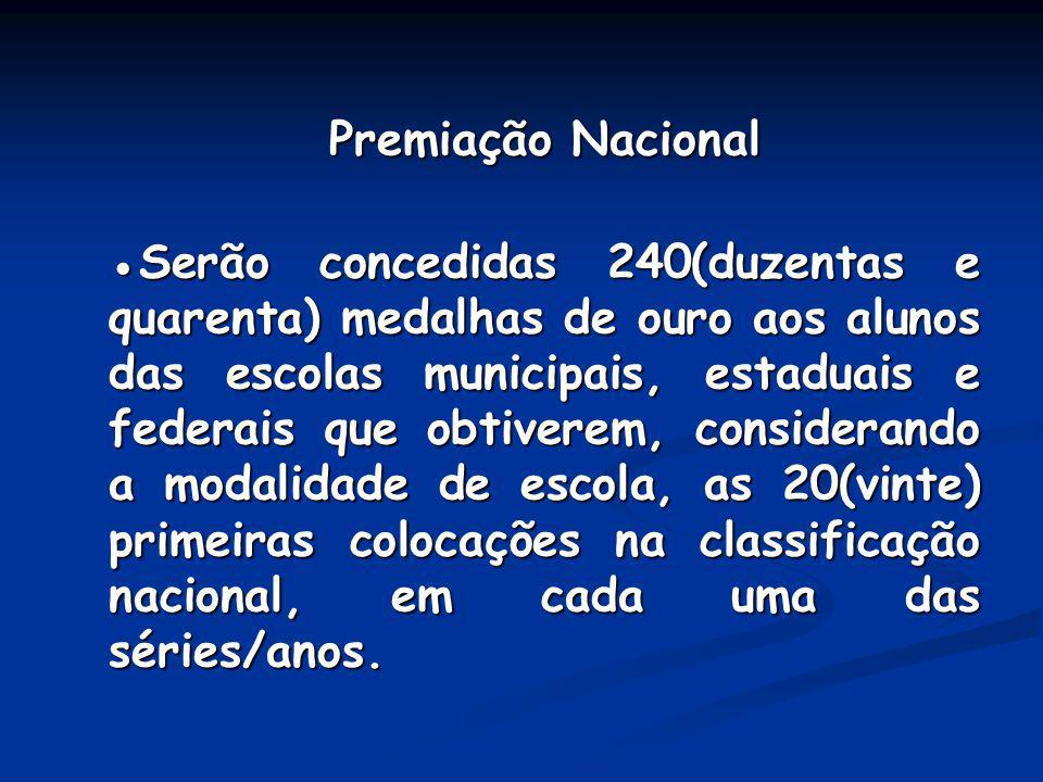 Premiação Nacional