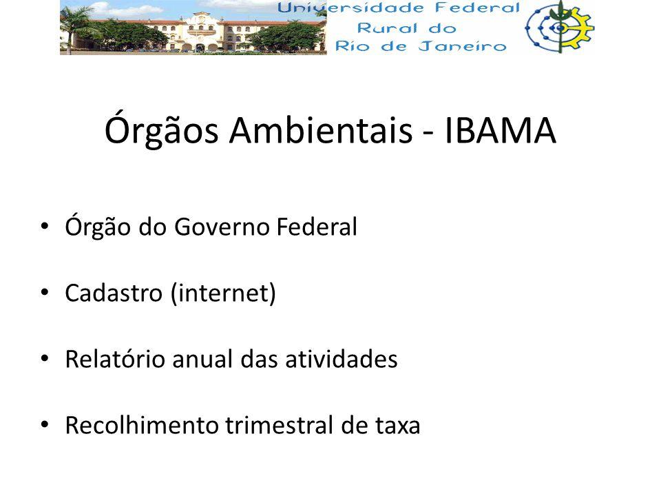 Órgãos Ambientais - IBAMA
