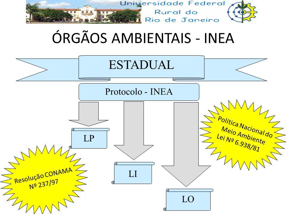 ÓRGÃOS AMBIENTAIS - INEA