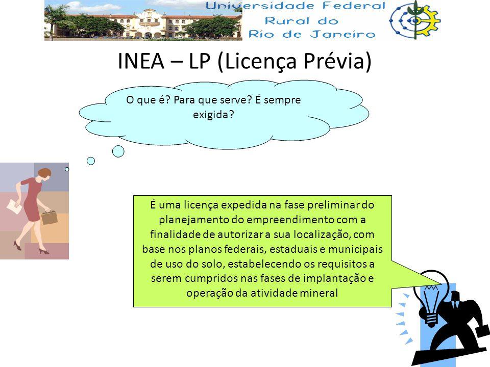 INEA – LP (Licença Prévia)