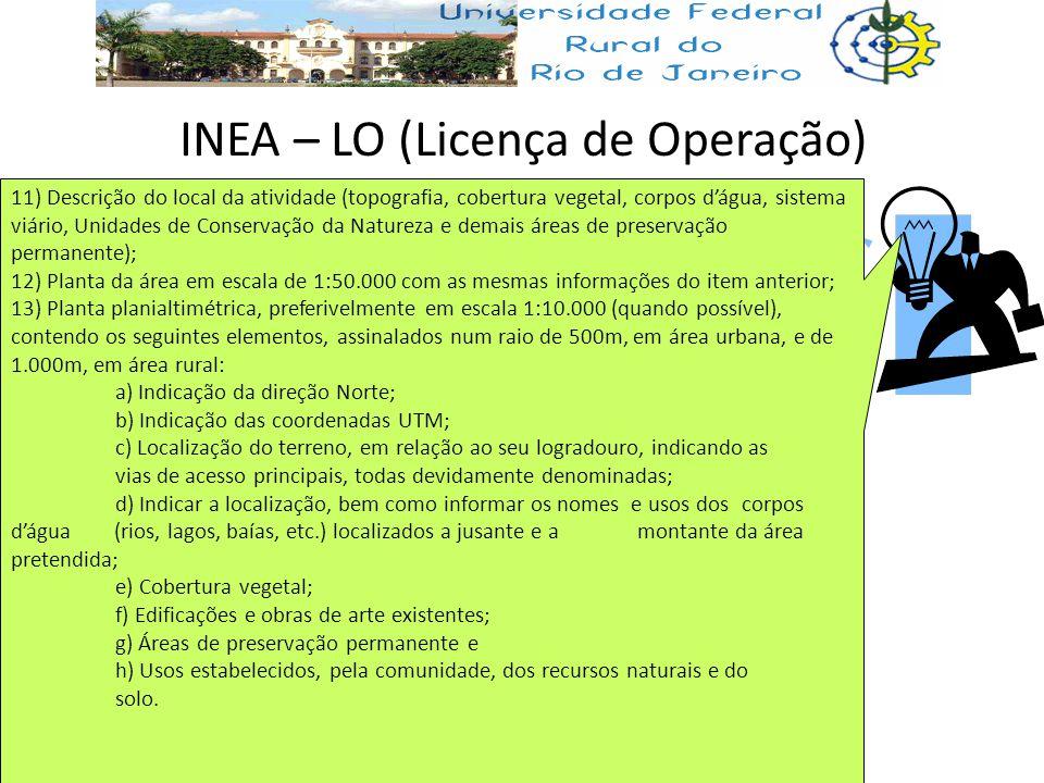 INEA – LO (Licença de Operação)