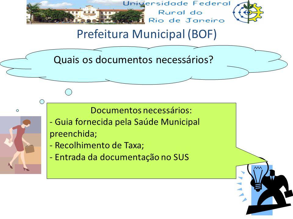 Prefeitura Municipal (BOF)