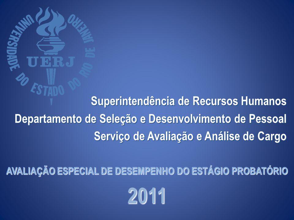 AVALIAÇÃO ESPECIAL DE DESEMPENHO DO ESTÁGIO PROBATÓRIO