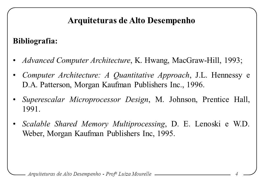 Arquiteturas de Alto Desempenho