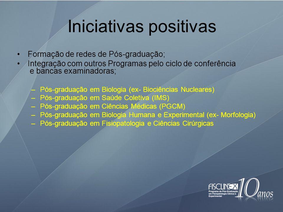 Iniciativas positivas