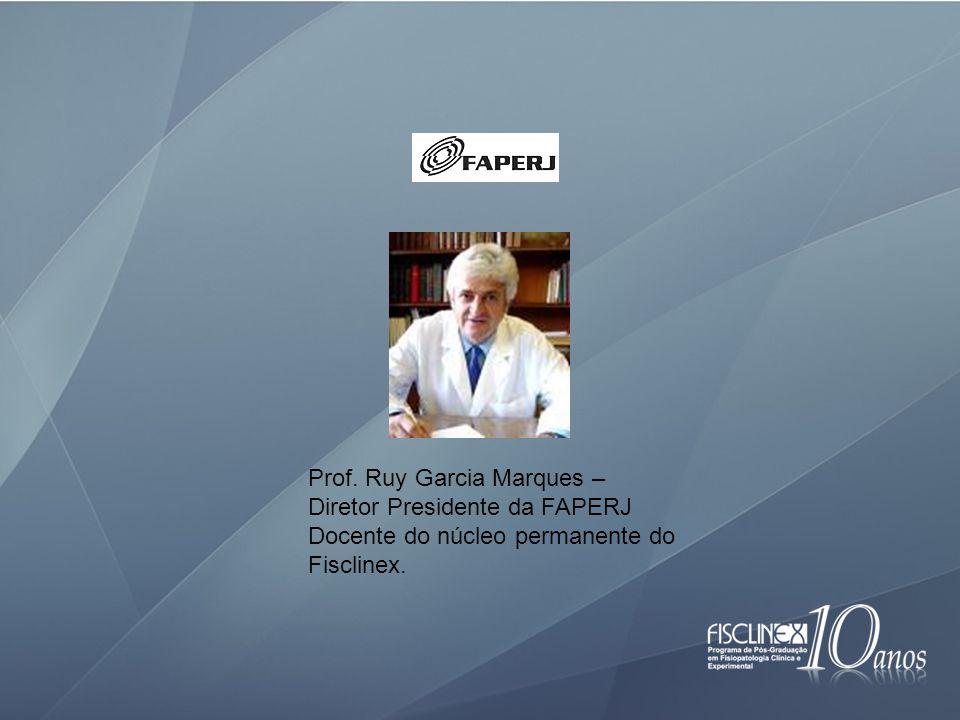 Prof. Ruy Garcia Marques –