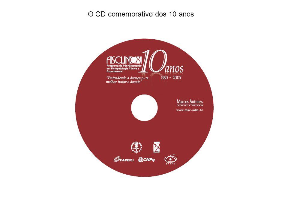 O CD comemorativo dos 10 anos