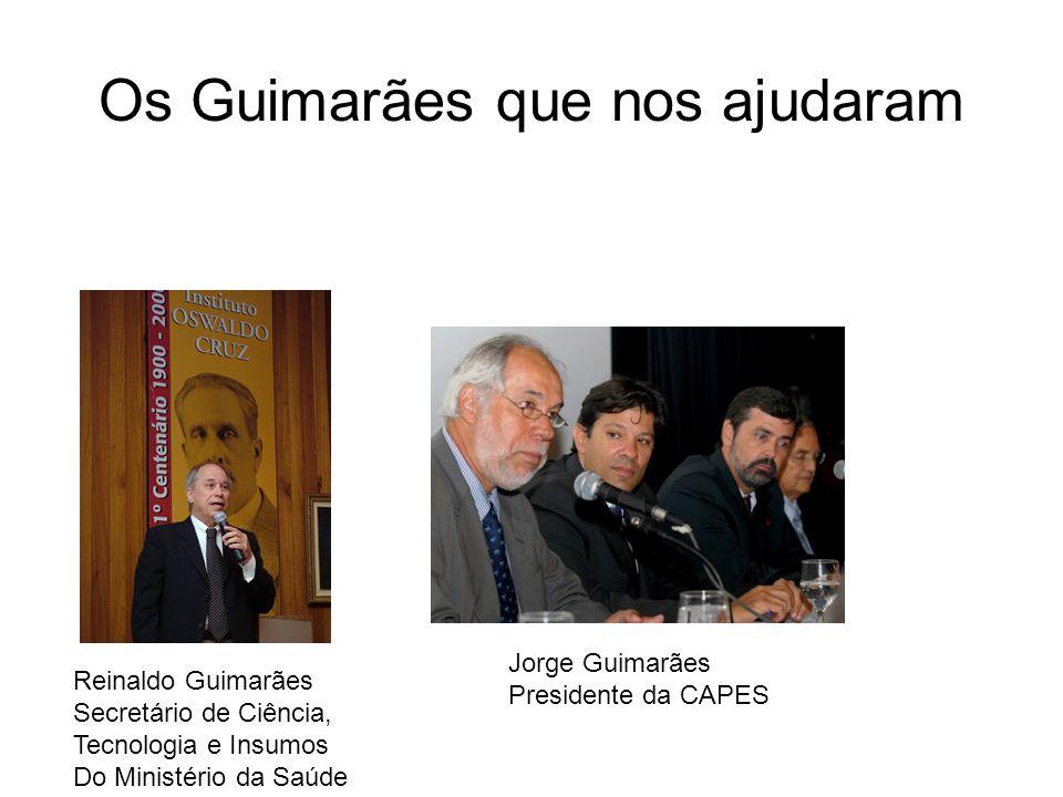 Os Guimarães que nos ajudaram