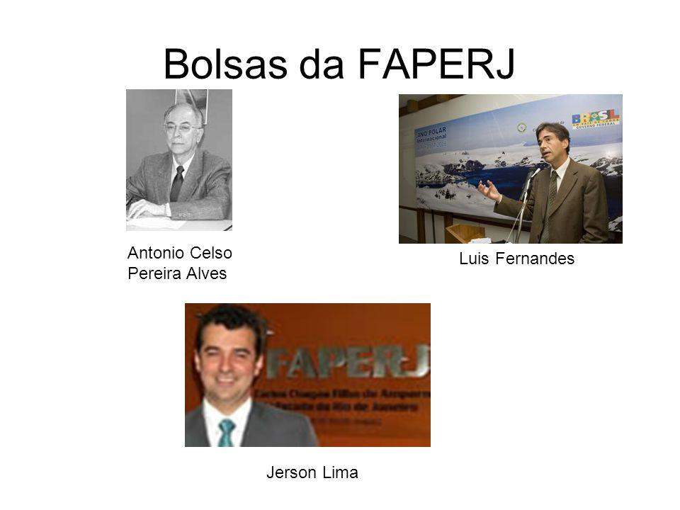 Bolsas da FAPERJ Antonio Celso Luis Fernandes Pereira Alves