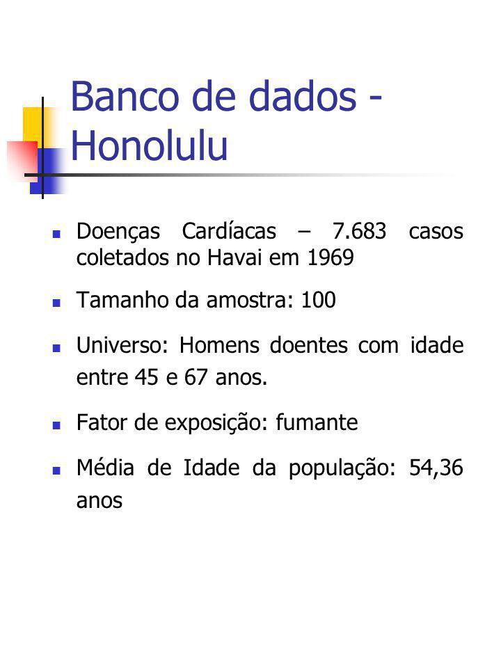 Banco de dados - Honolulu