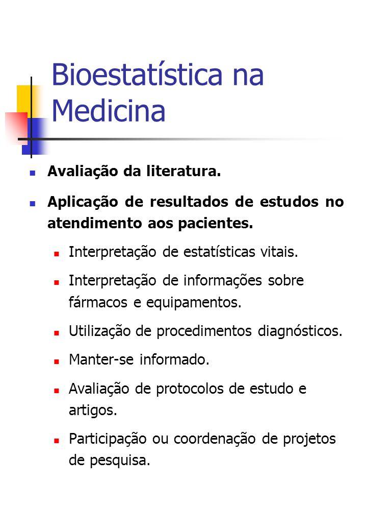 Bioestatística na Medicina