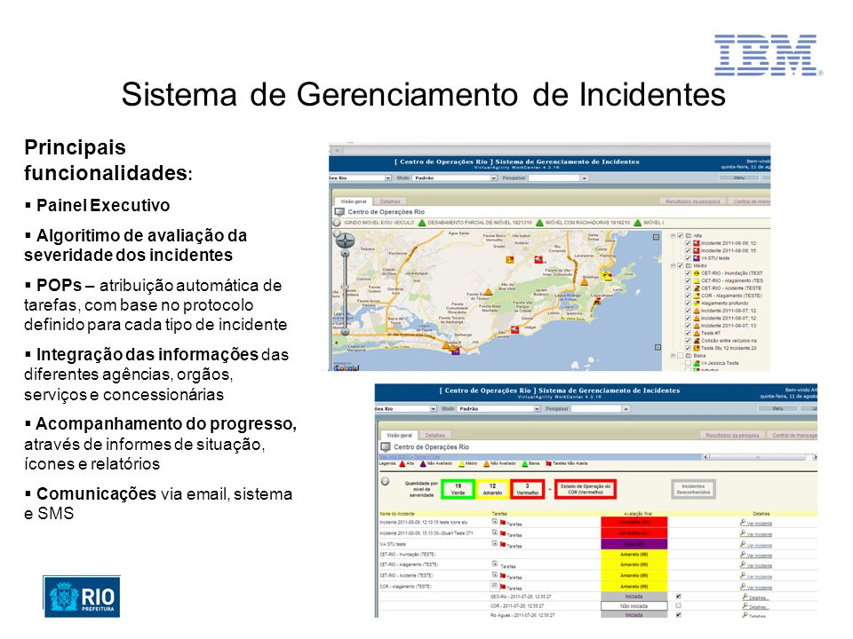 Sistema de Gerenciamento de Incidentes