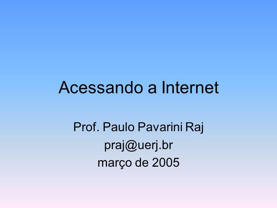 Prof. Paulo Pavarini Raj praj@uerj.br março de 2005