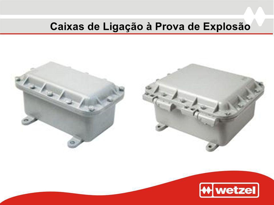 Caixas de Ligação à Prova de Explosão
