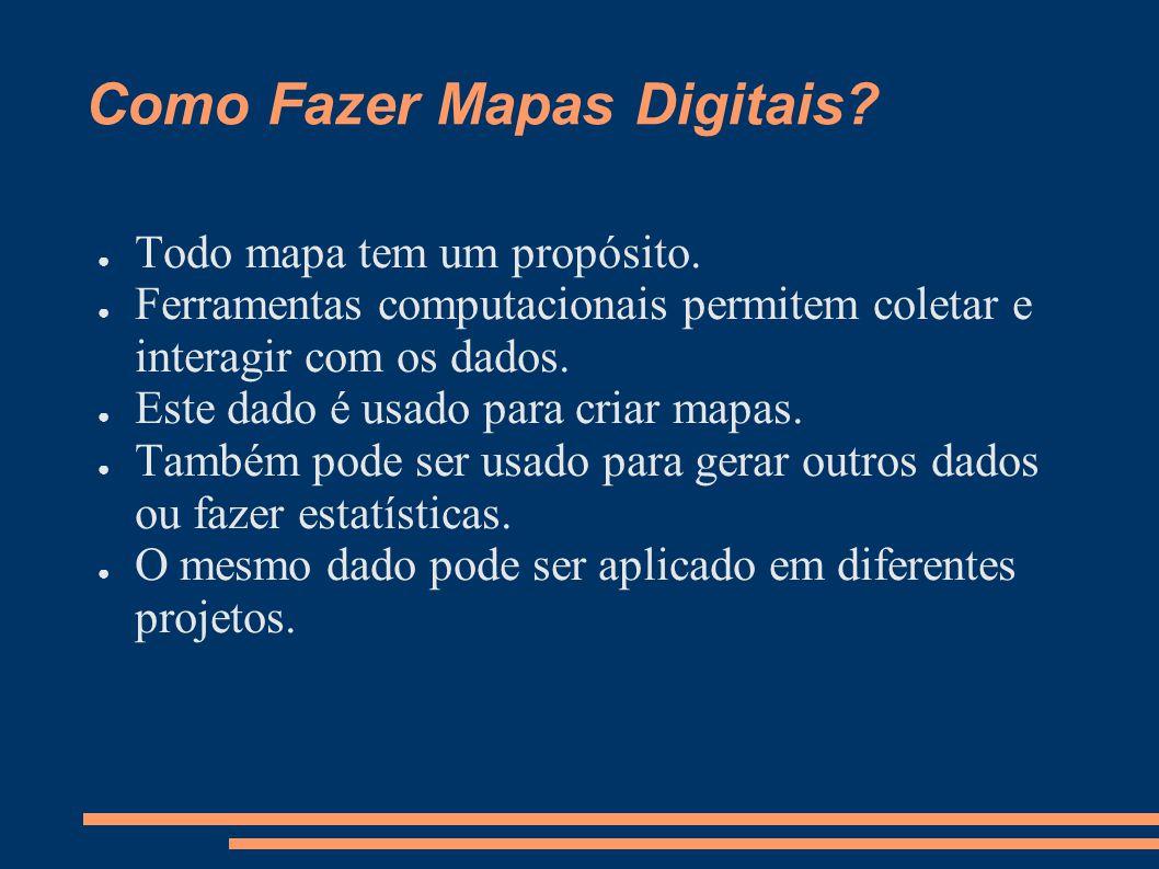 Como Fazer Mapas Digitais