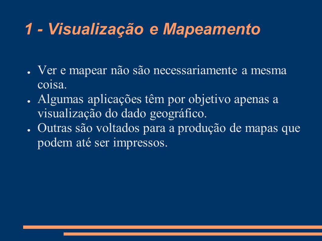 1 - Visualização e Mapeamento
