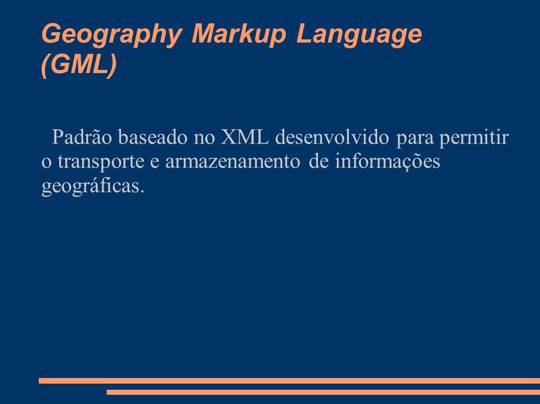 Geography Markup Language (GML)