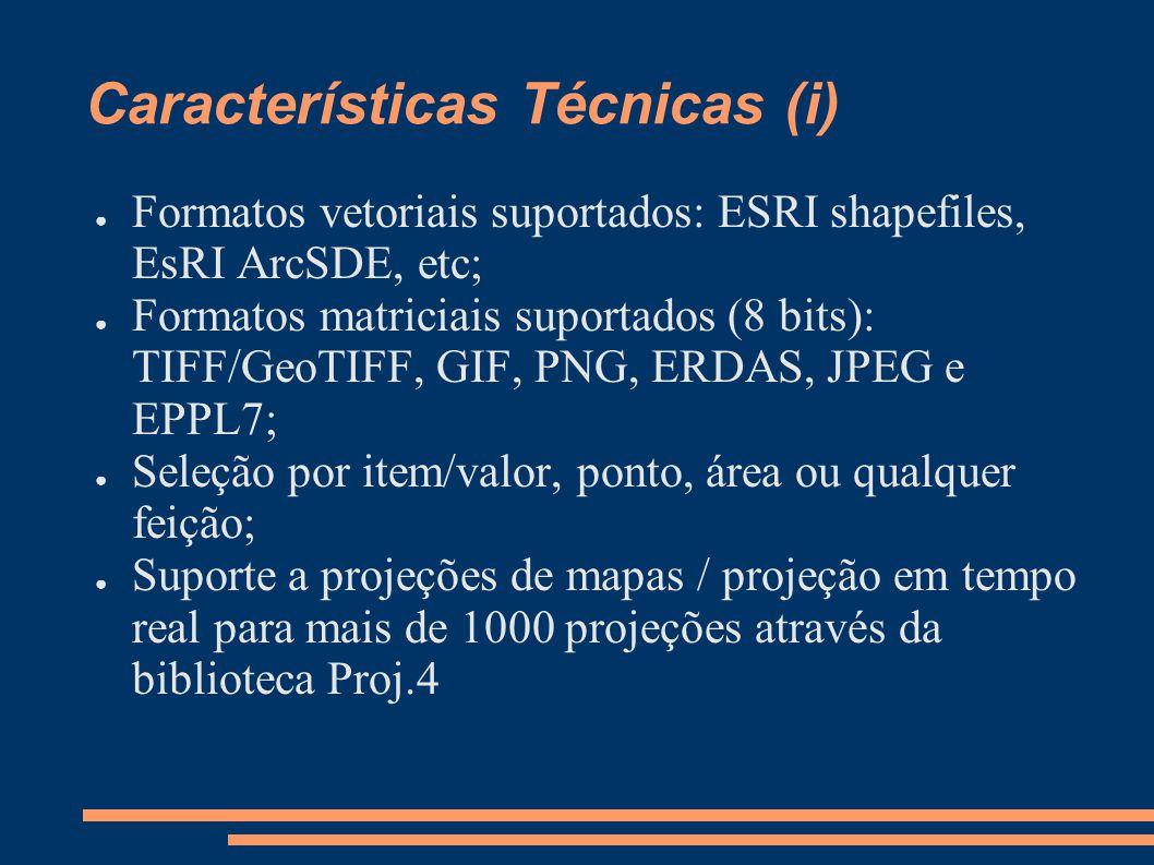 Características Técnicas (i)