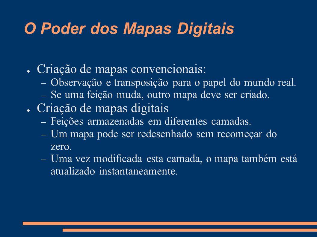 O Poder dos Mapas Digitais