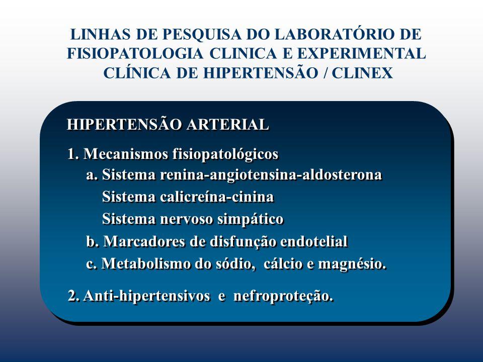 CLÍNICA DE HIPERTENSÃO / CLINEX