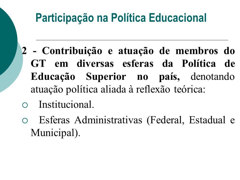 Participação na Política Educacional