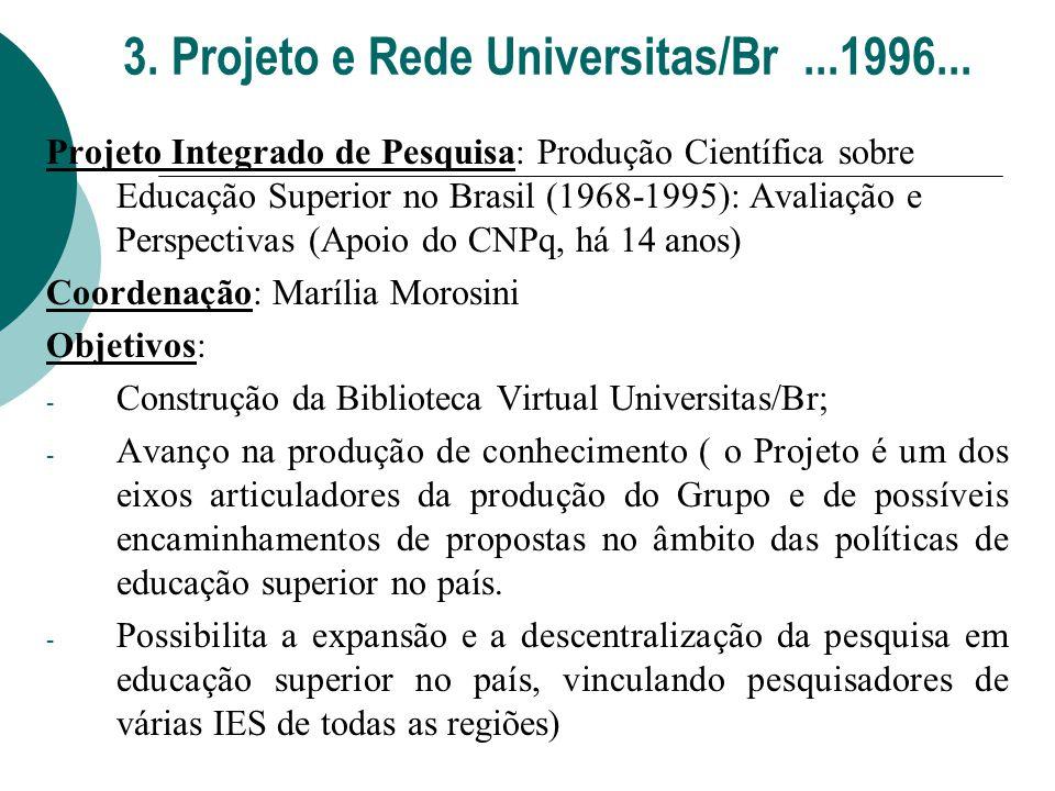3. Projeto e Rede Universitas/Br ...1996...