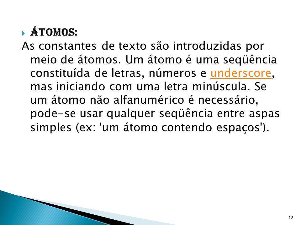 Átomos: