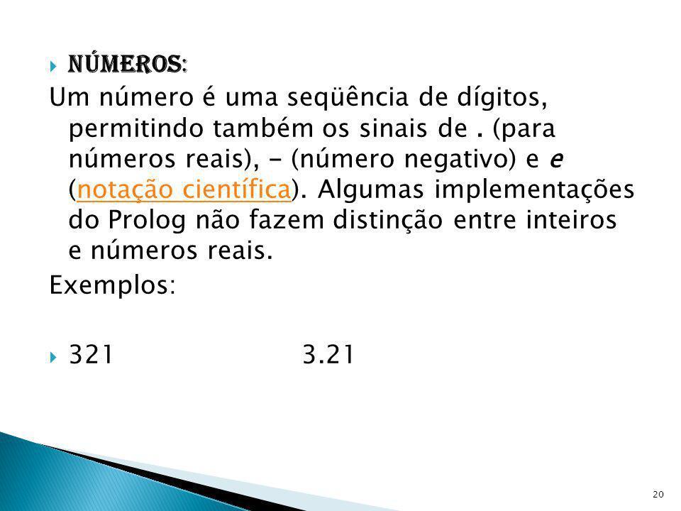 Números: