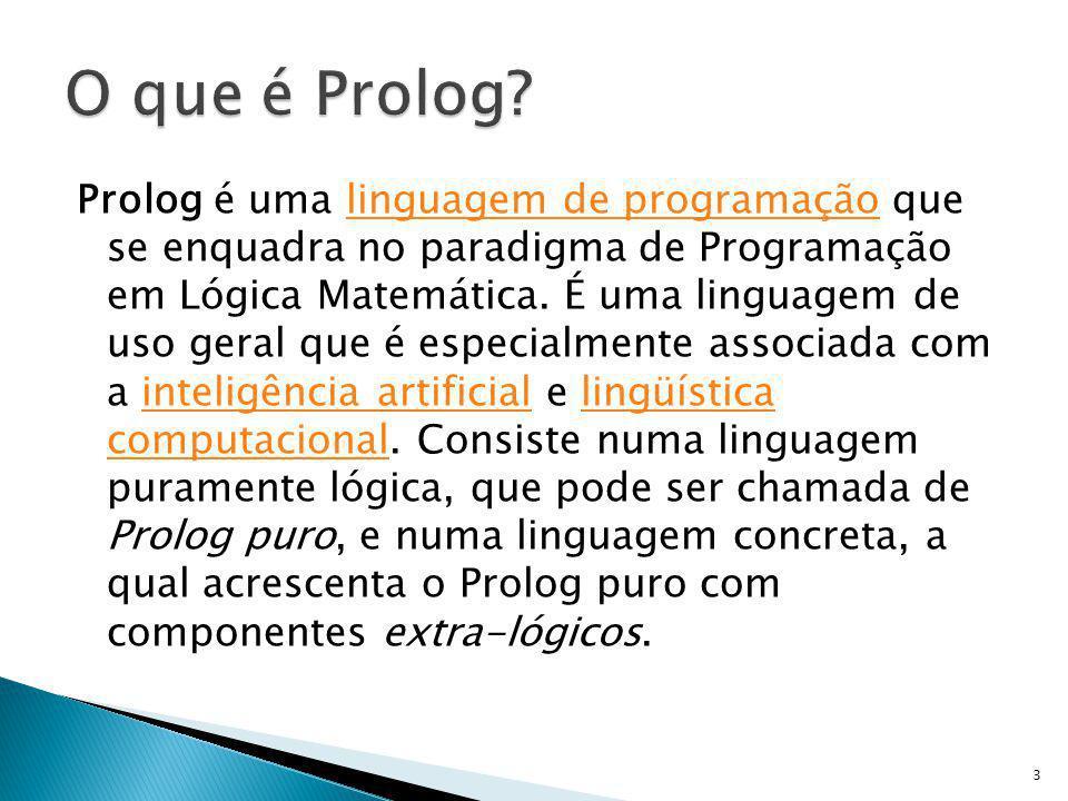 O que é Prolog
