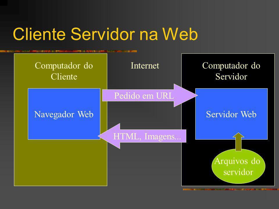 Cliente Servidor na Web