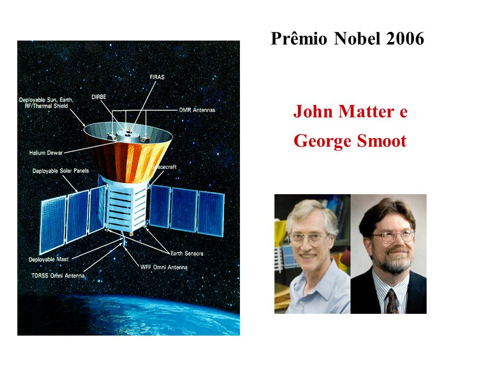 Prêmio Nobel 2006 John Matter e George Smoot
