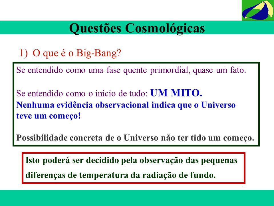 Questões Cosmológicas